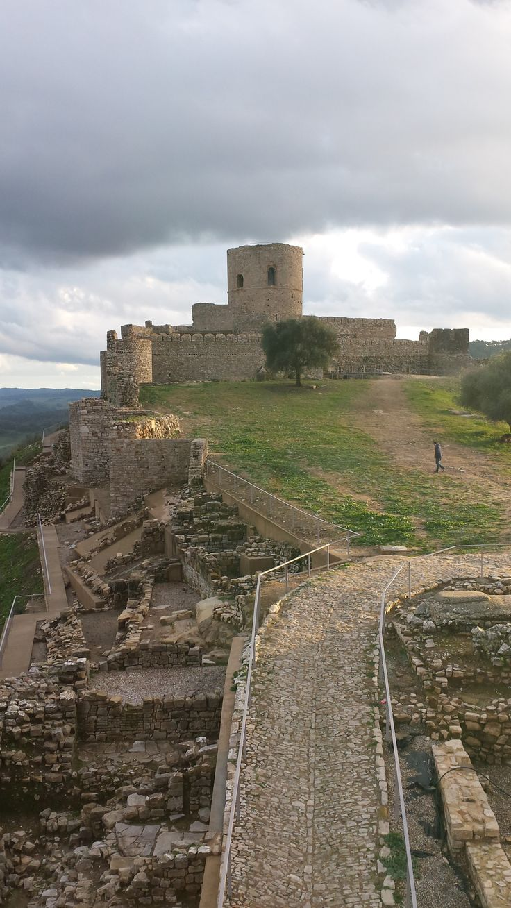 Castillo de Jimena de la Frontera, Cádiz.