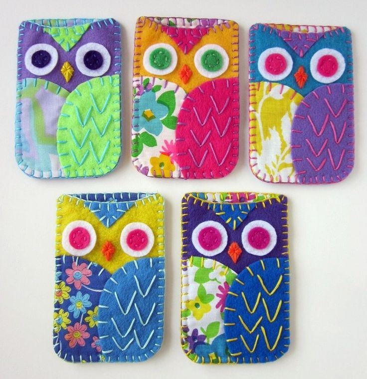 Owl Phone Holders - really sweet