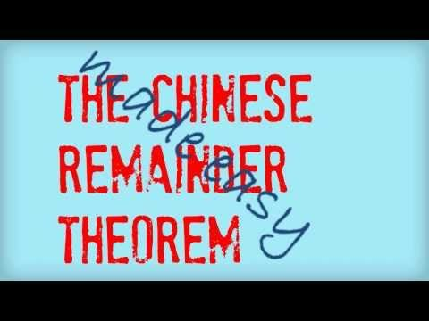 The Chinese Remainder Theorem made easy - YouTube