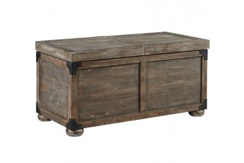Ashley Furniture Coffee Table Trunk With Slide Top Pinterest