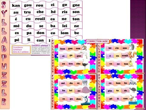 Des jeux pour travailler l'orthographe de manière différente : Révision pour les CP en cette fin d'année ou pour le premier trimestre en CE1 … Pour développer les compétences en orthographe par le jeu !   IMAGIMOTS : lettres et syllabes 3 jeux avec chacun 25 étiquettes , 4 pions , le plateau et …