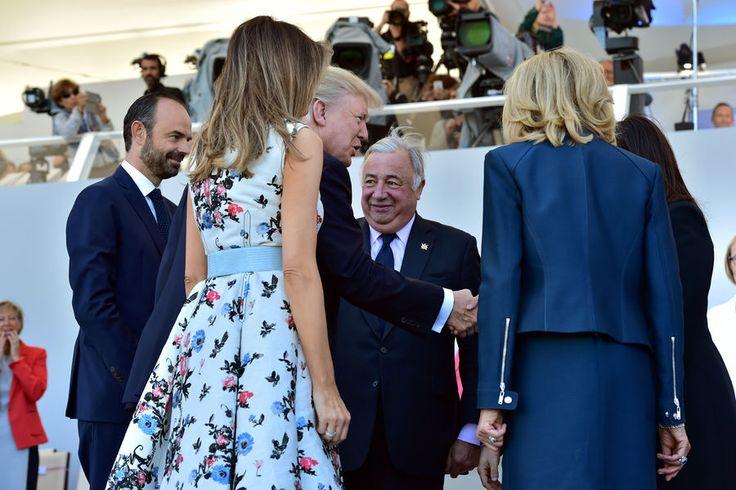 Le président américain Donald Trump et son épouse Melania sont à Paris. Ils assistent, ce vendredi, à leur premier défilé du 14 juillet.