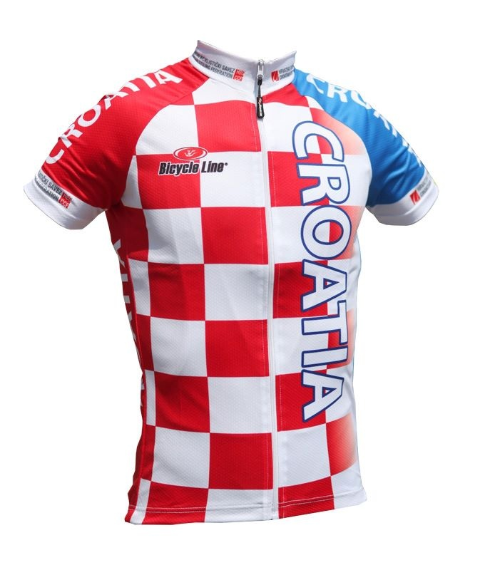 Croatian National Team cycling jersey by Bicycle Line