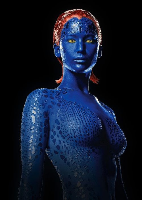 Mystique Jennifer Lawrence Full Body 17 Best images about M...