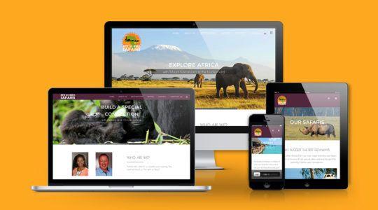 Travel Agency Responsive Web Design | Utazási iroda reszponzív web design