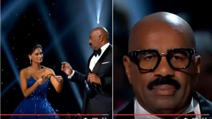 Miss Universe 2016 - Pia Beri Kacamata Host Sebelum Baca Pemenang, Takut Insiden 2015 Terulang?