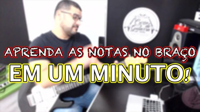"""APRENDA AS NOTAS NO BRACO EM UM MINUTO. Link do canal na BIO. YOUTUBE.COM/CURSODEGUITARRAONLINE CURSODEGUITARRAONLINE.NET #auladeguitarra #cursodeguitarraonline #danielchermont #ead #professordeguitarra #digitalmarketing #marketingdeconteudo #marketingdigital #empreendedorismo #empreendedorismodigital #kebook #guitarra #guitarraonline #music #musica #musicos #chermont #teamchermont #aprendaguitarra"" by @cursodeguitarraonline. • • • • • #digitalmarketing #onlinemarketing #marketing #branding…"