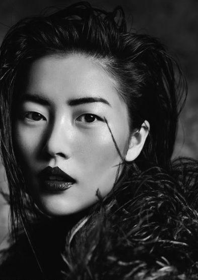 balenciwanga: Liu Wen in Vogue Thailand October 2013 photographed by Marcin Tyszka