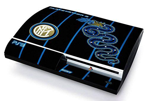 INTER FC INTERNAZIONALE CALCIO Skin Cover PS3 FAT HD limited edition DECAL COVER ADESIVA STICKER Playstation 3
