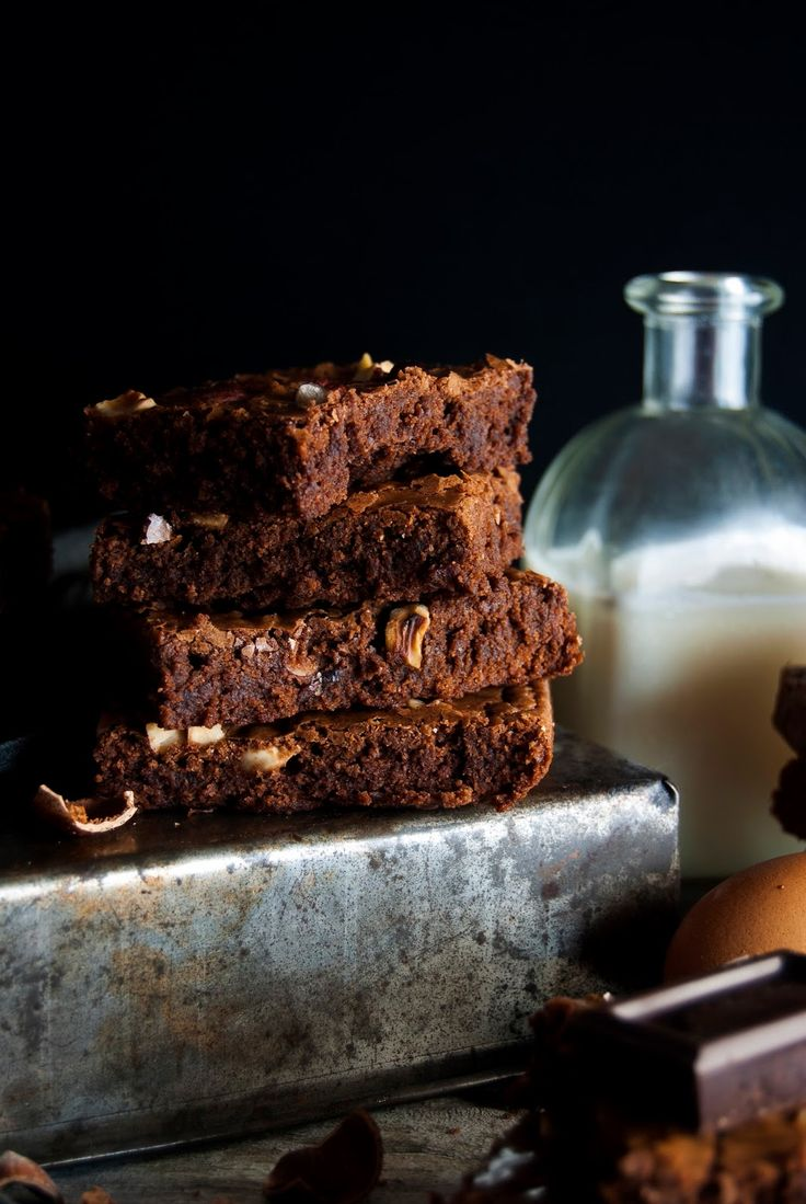 La asaltante de dulces: Receta de brownie de chocolate y avellanas/ Chocolate & hazelnut brownie recipe. OMG!!