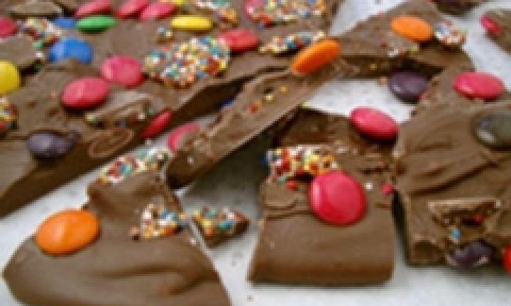 Chocolate bark - Kidspot