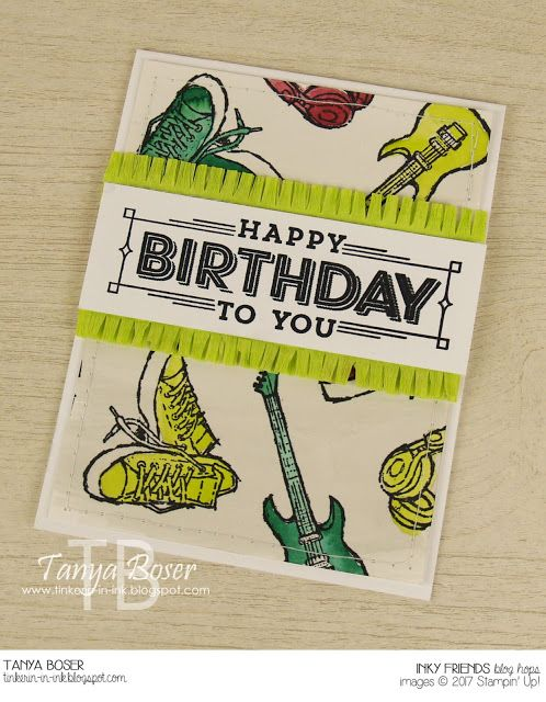 Tinkerin In Ink with Tanya: Inky Friends: Time to Sale-A-Brate
