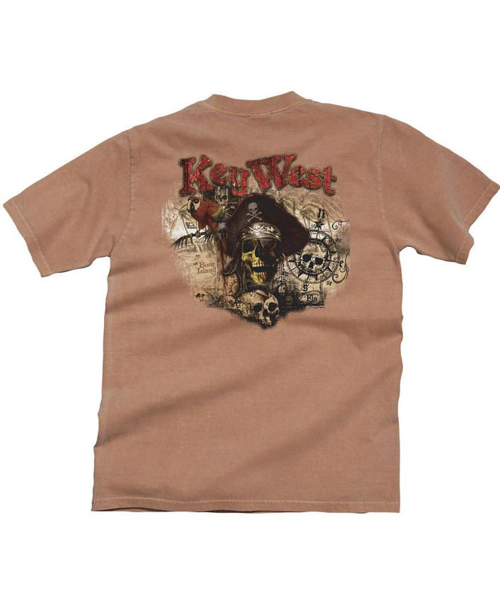 Pirate's Paradise - Rum Dyed Crew Neck T-Shirt