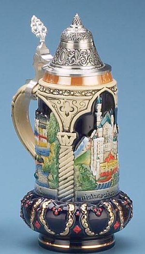 NEUSCHWANSTEIN STEIN - Authentic Beer Steins from Germany - 1001BeerSteins.com