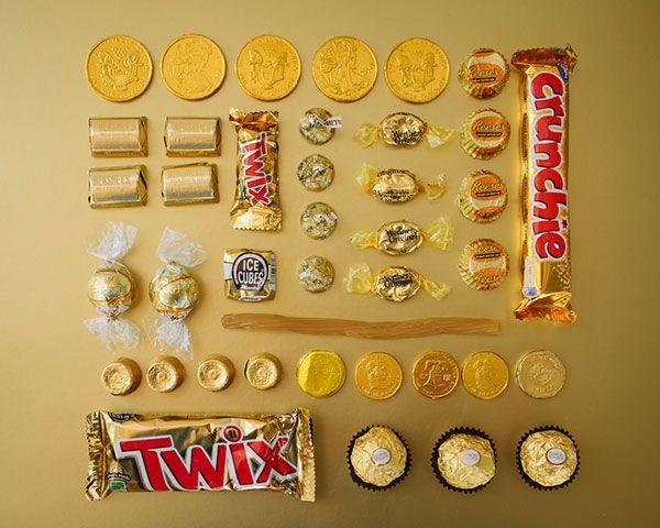 Sugar Series, dulces ordenados