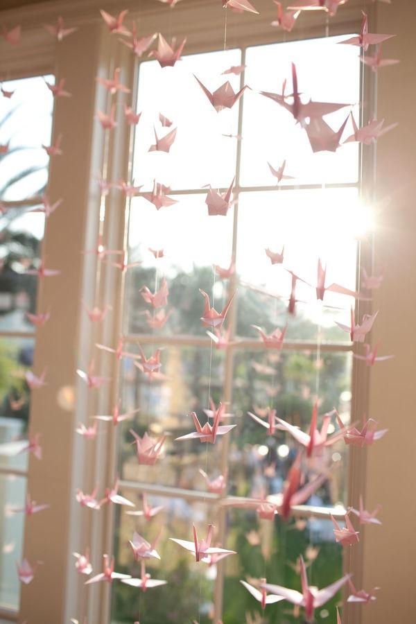 76 Best Wedding Decor Origami Images On Pinterest