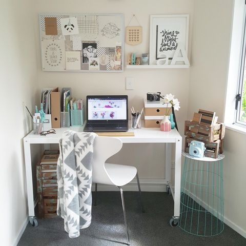 My workspace makeover - home office makeover #kmarthack table