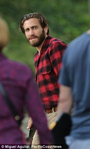 In Production: Jake Gyllenhaal and Isla Fisher were seen on the set of their new movie Noc...