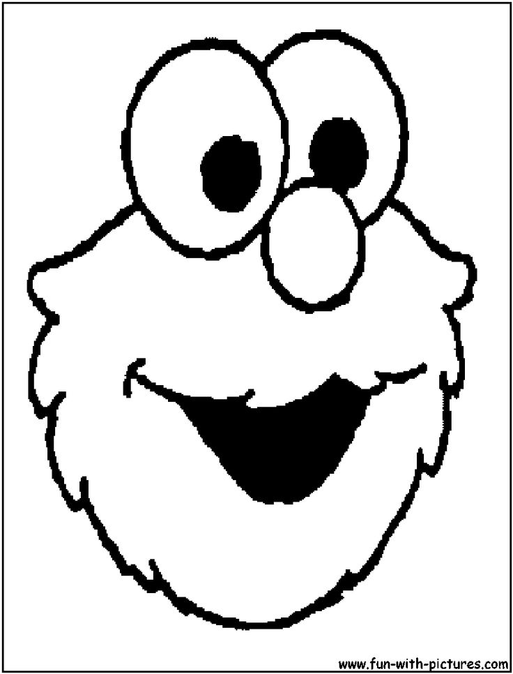 elmo coloring pages birthday balloon - photo#19