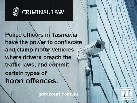 Hoon Laws in Tasmania