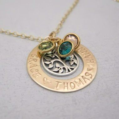 7 best Family Tree Necklaces images on Pinterest Family trees