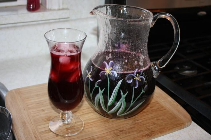 A Refreshing Spiced Caribbean Sorrel Drink.
