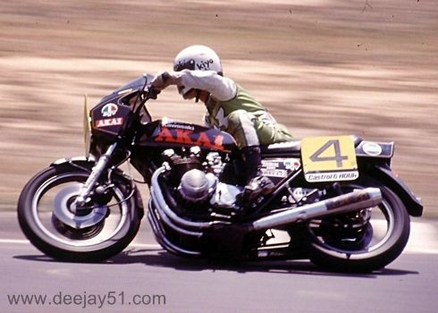 CASTROL SIX HOUR 1979 GRAEME CROSBY AND AKIHIRO KIYOHARA, KAWASAKI Z1R MKII