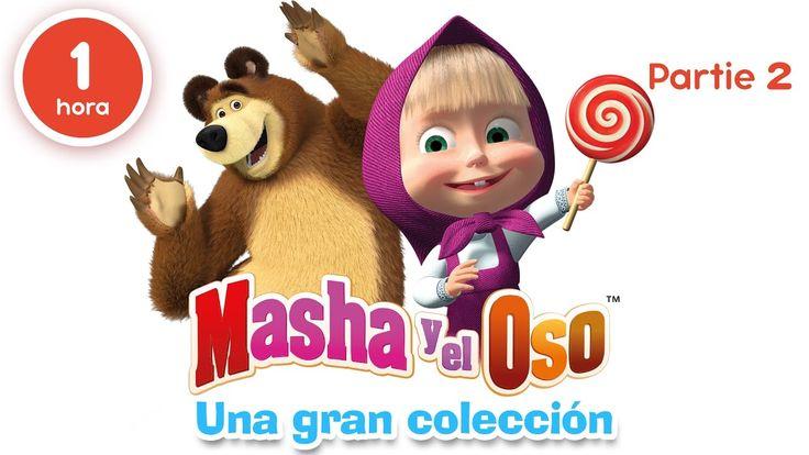 Masha y el Oso - Una gran colección de dibujos animados (Parte 2) 60 minutos para niños en Español https://www.youtube.com/watch?v=fXsACakpIdg