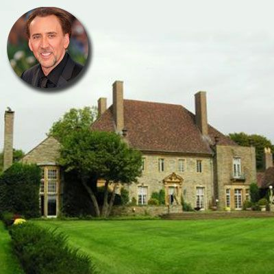 Old Mansions for Sale | Nicolas Cage | Stately Celebrity Homes for Sale | This Old House