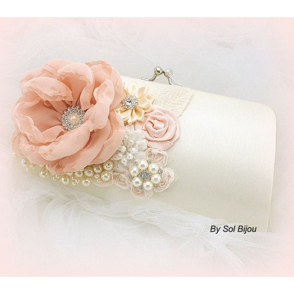Bridal Evening Purse Golden Clutch Crystal Mother Of The Bride ...