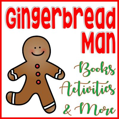 Gingerbread Man books, Activities and more: classroom idea to start your Gingerbread unit.