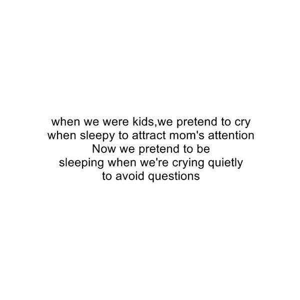 Have you ever cried you were so scared?