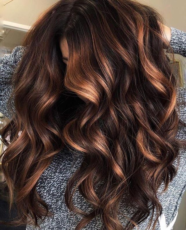 It S National Chocolate Candy Day And We Can T Get Enough Of This Chocolate Brown Balayage Blackberry Hair Colour Brunette Hair Color Hair Styles
