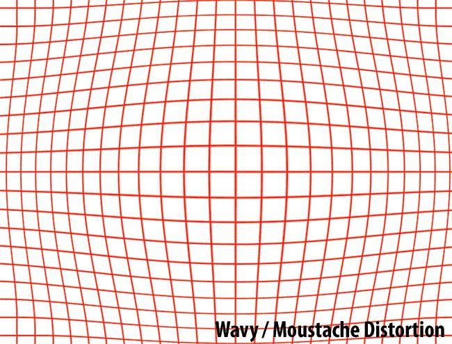 Wavy Moustache Distortion