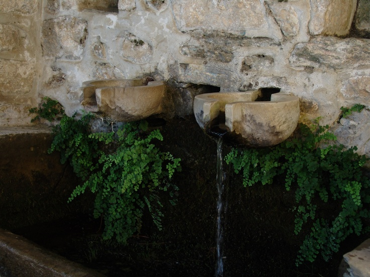 Water from a well. Milies, Greece