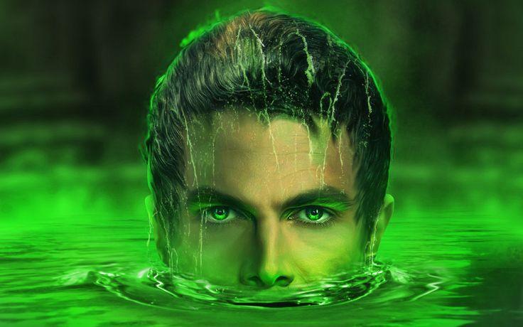 Lazarus Pit, Oliver Queen, Green arrow, season 6, face art wallpaper