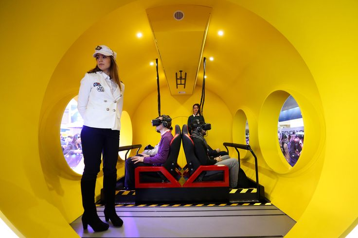 Much of the buzz in virtual reality has been about gaming and entertainment, but this week at Europe's biggest tech conference Facebook Inc.'s Mark Zuckerberg and Vodafone Group Plc chief Vittorio Colao are promoting less obvious applications for immersive gear -- education, security and tourism.