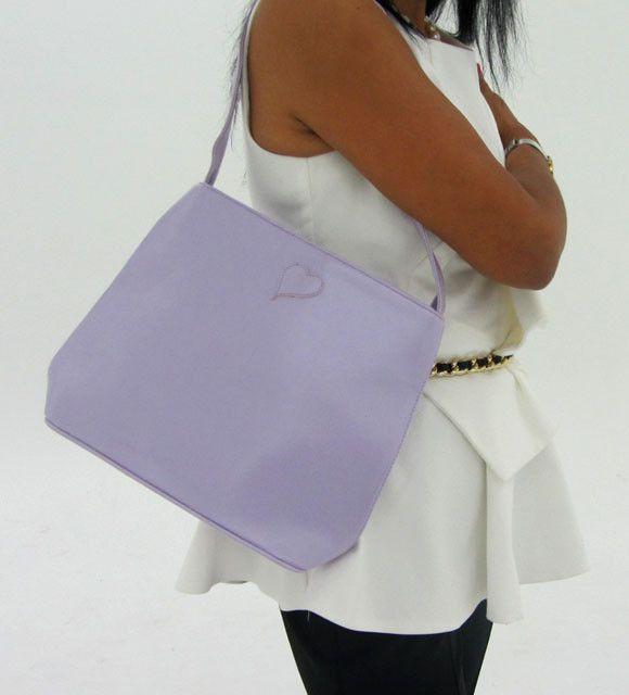 gemstone leather like purple shoulder bag op 41