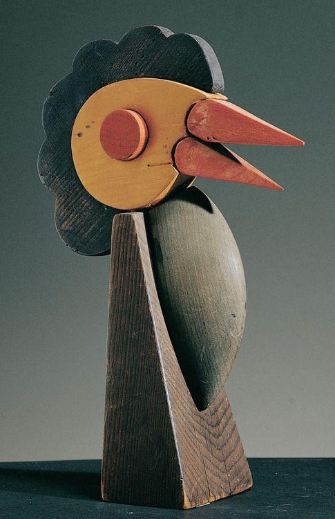 """1917, Fortunato Depero: giocattolo """"pappagallino""""."""