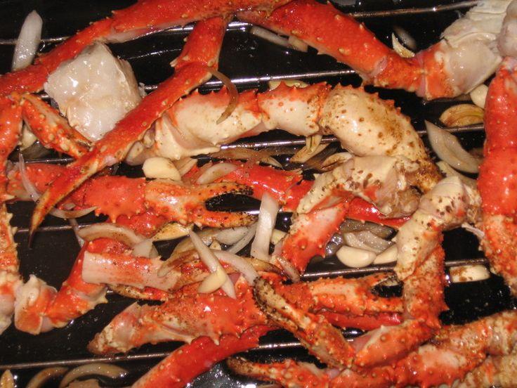 how to cook frozen snow crab legs in oven