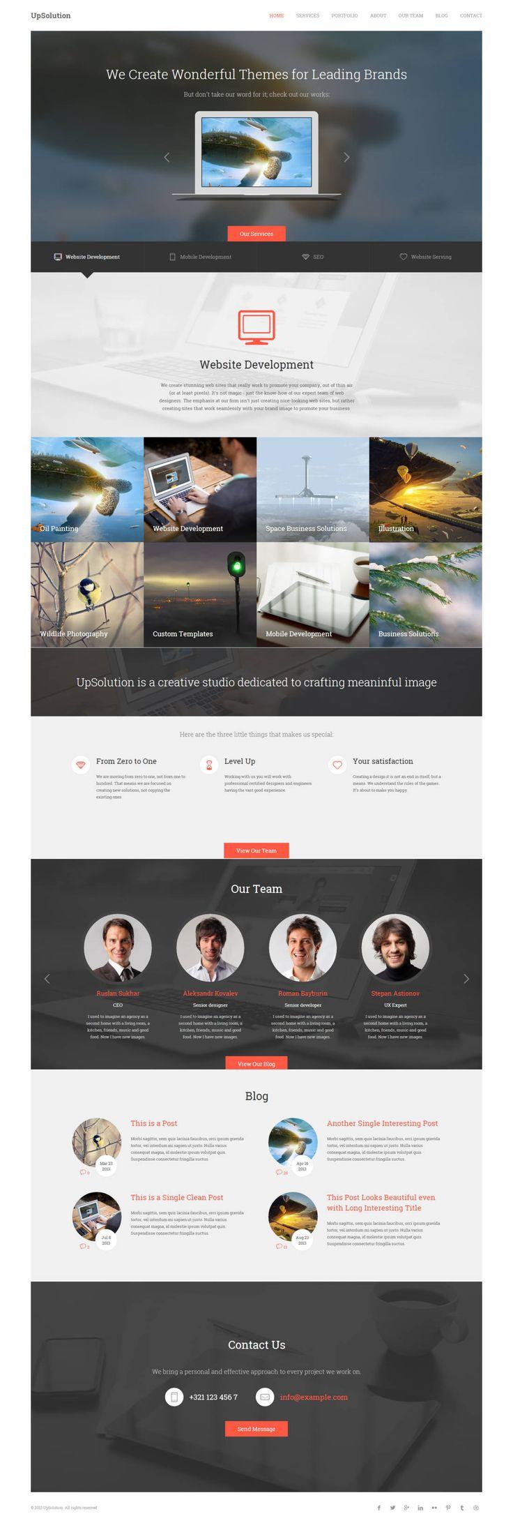 527 best Inspirational designs images on Pinterest | Design websites ...
