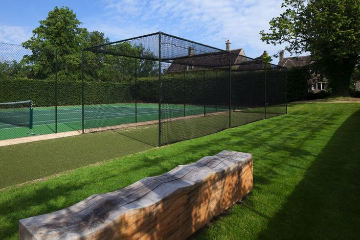 cricket nets by court ?