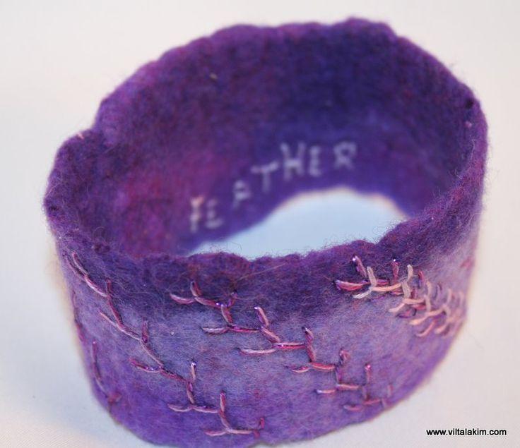 Kuvahaun tulos haulle felting armband