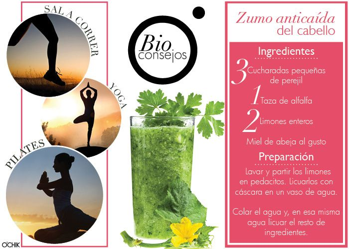 Consejos de belleza. Deporte. Yoga. Pilates. Smoothie. Cuerpo y alma.  www.ochik.com