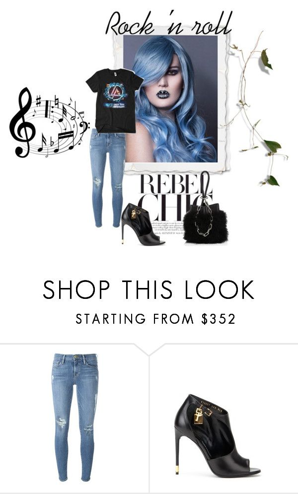"""Band t shirts...RIP Chester..."" by swc0509 ❤ liked on Polyvore featuring Frame, Tom Ford and Alexander Wang"