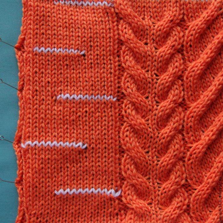Как вязать широкие косы на вязальной машине написано уже не раз и разными способами.Но я немного упростила процесс сшивания, его преимущество – что не надо сначала отпаривать заготовку, чтобы петельки не 'убежали' – от чего косы получаются не столь объемные и видно, что с чем соединять. Начнем попорядку: 1. В процессе вязания бросовой нитью вручную провязываем 10 петель в каждом 10-м…