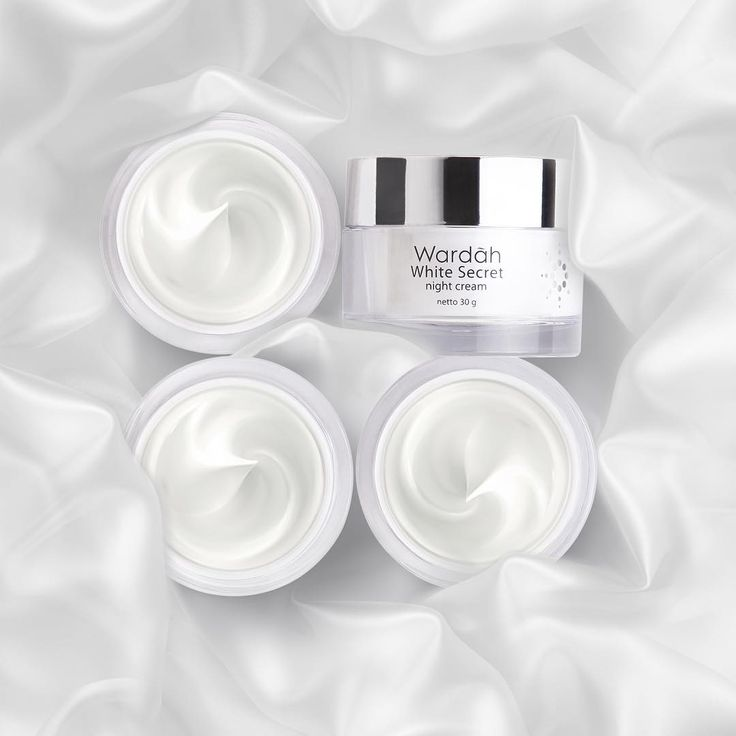 """Night is the ultimate time to boost your beauty. Pick your Wardah White Secret Night Cream and see the crystal clear radiant skin awaits you tomorrow…"""