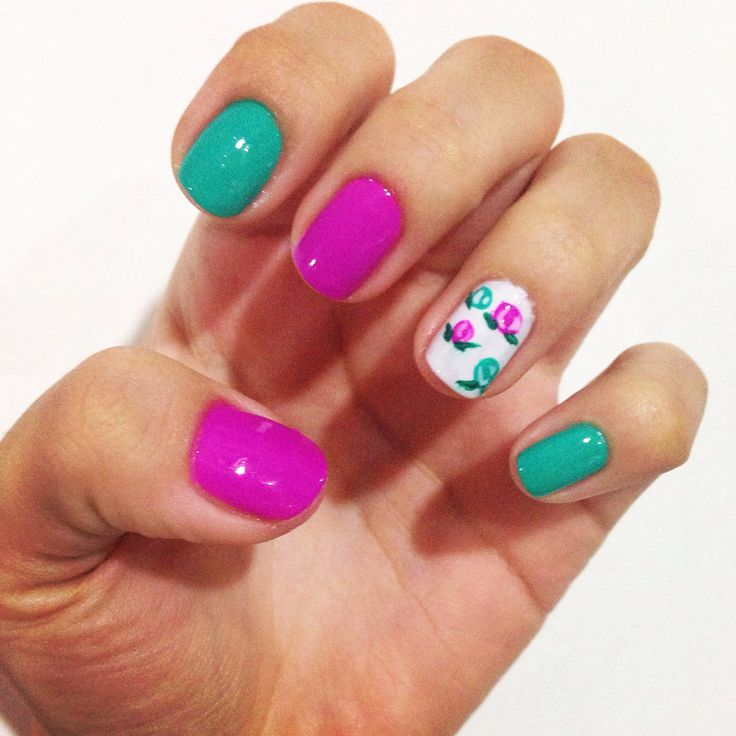 Uñas para mi cumple #manicura #nailart