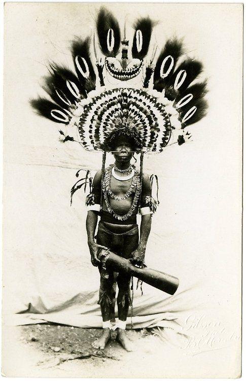 Papua New Guinean, 1900-1930 (via British Museum)