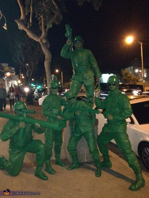 Toy Story Soldiers Costume Creative Homemade And Toys